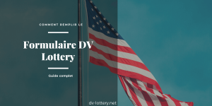 formulaire dv lottery