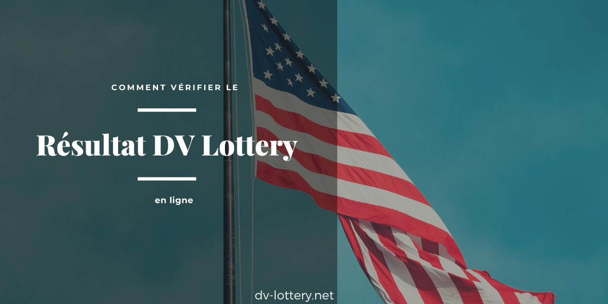 illustration de résultat dv lottery