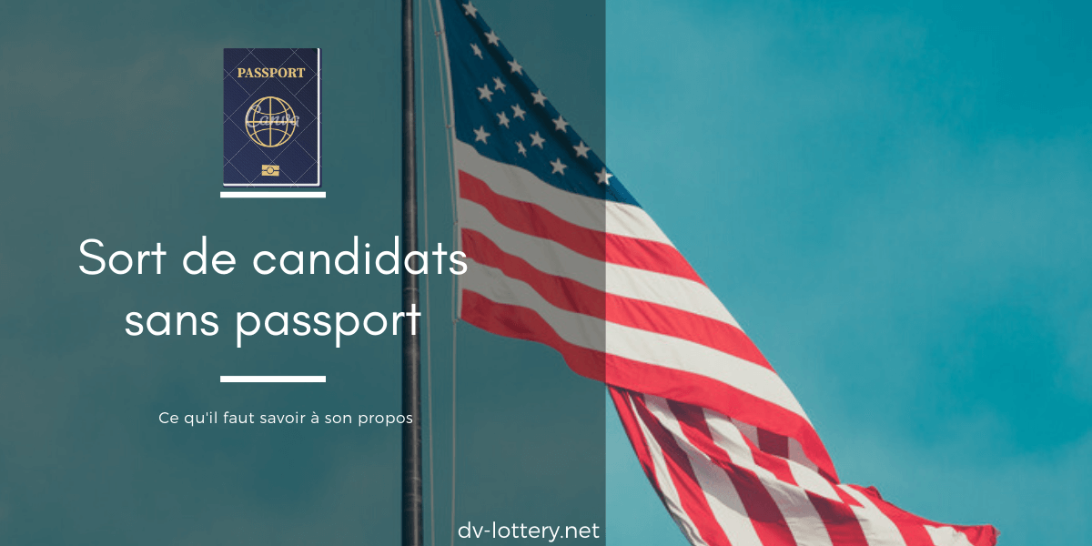Passport dv lottery